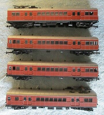 NSWGR 4-Car Sydney Suburban Single Deck Passenger Train - Bergs Minimodels ? HO