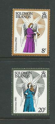 1980 Christmas Part set of 2 complete MUH/MNH as issued