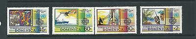 1983 World Communications Year Set of 4 stamps complete MNH/MUH