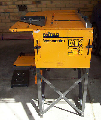 Triton workcentre MK 3. Wood working bench.  Located in Victoria.