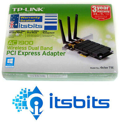 TP-LINK ARCHER T9E WIRELESS PCI-E DUAL BAND ADAPTOR AC1900 5GHz & 2.4GHz