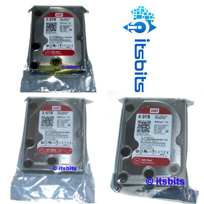 "Western Digital 3.5"" Red Nas Internal Sata Hard Drive 1Tb 2Tb 3Tb 4Tb 6, 8, 10Tb"