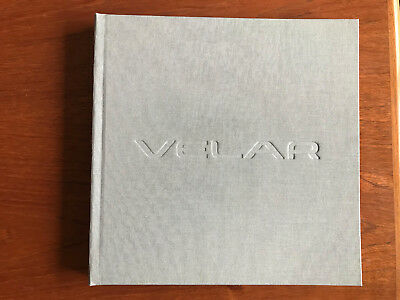 Range Rover Velar hardback book from the launch party