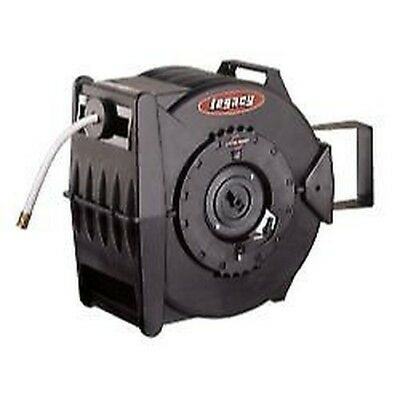 "Legacy L8349 Levelwind Retractable Cold Water Hose Reel w/ 5/8"" I.D. x 50' hose"