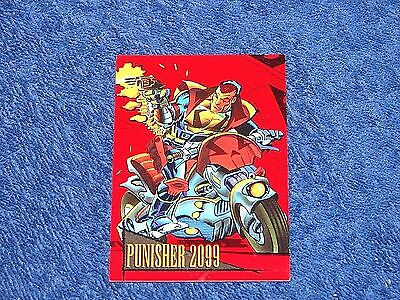 1993 Marvel Universe Series 4 Punisher 2099 Red Foil Chase Card (Marv4)