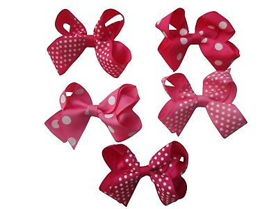 30 X  Candy Bows Boutique Small Girl Bow Bundle - wholesale lot