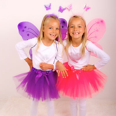 Excellent Quality Girls Tutu Fancy Dress Age 3-6 years UK Seller Various Colours