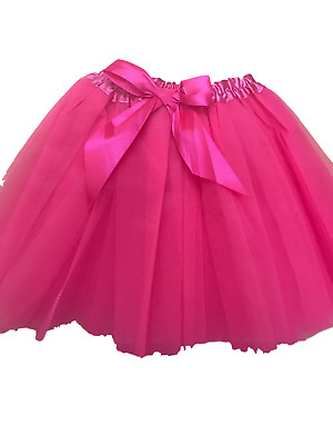 Excellent Quality Girls Tutu Fancy Skirts Dress Up 3 Layers- Genuine UK Seller