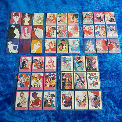 Trading Card Set - 135 Stk. - Shoujo Kakumei Utena Part 2 - KOMPLETT inkl. S1-4