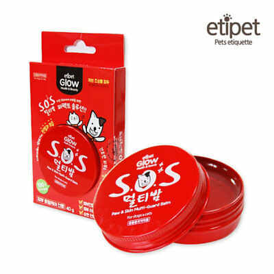 ETIPET GLOW PET S.O.S MULTI BALM 40g for Dogs & Cats Soothing & Nutrition Korea