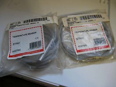 Lot of 2 NOS New Old Stock Sealed Carlo Gavazzi ETR61 Temperature Sensors