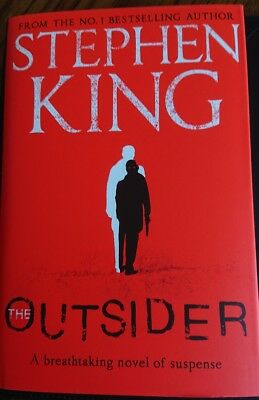 The Outsider by Stephen King 1st UK HB 2018 - NEW RELEASE