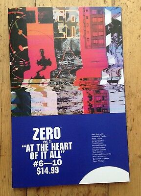 Zero Vol 2: At The Heart Of It All - Trade Paperback Graphic Novel - Ales Kot