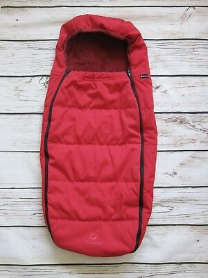 Quinny Buzz Stoller Footmuff Rebel Red