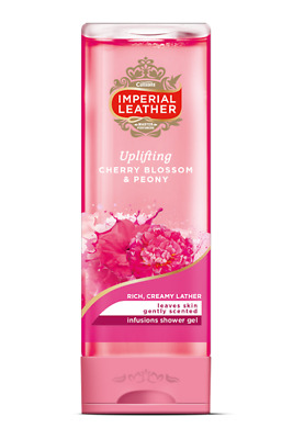 ** 2 X Cussons Imperial Leather Uplifting Cherry Blossom & Peony Shower Gel New*