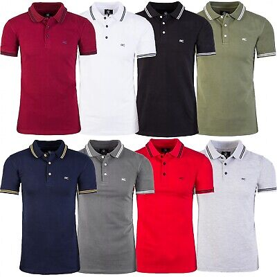 bb8be4b9255970 Rock Creek Herren Polo T-Shirt Basic Shirt Kurzarm Sommer Poloshirt H-177  NEU