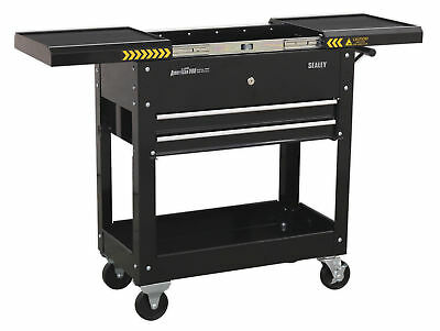 Sealey Ap705Mb Mobile Tool And Parts Trolley - Black