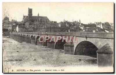 CPA Nevers Vue generale