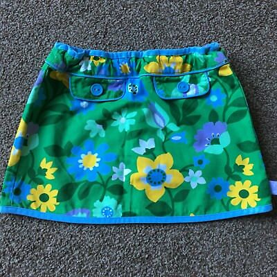 Little Bird Green Floral Skirt 9-12 Months