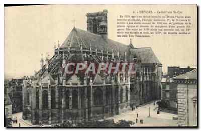 CPA Nevers Cathedrale St Cyr