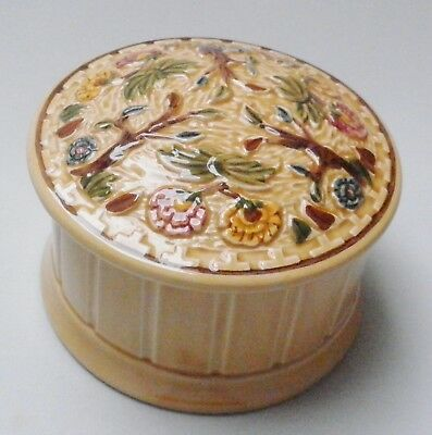H J Wood Indian Tree Lidded Pot Model 1274 - Made in England
