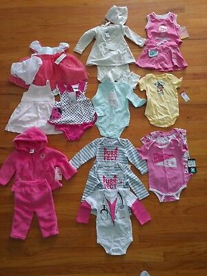 LOT 15! A big lot of new quality things for a girl 3-9 months!