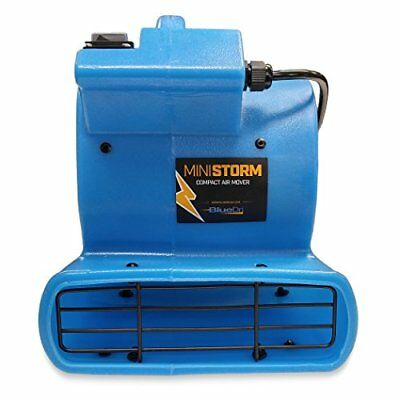 Soleaire Mini Air Mover Carpet Dryer-1/12  Floor Blower Fan for Home Use, Blue