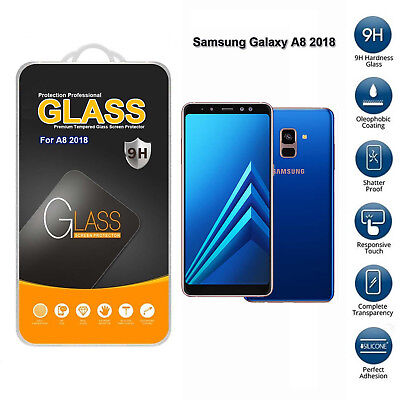 For Samsung Galaxy A8 2018 Tempered Glass Mobile Phone Screen Protector