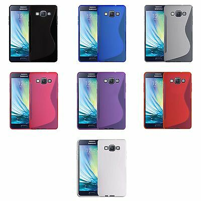 Case For Samsung Galaxy A5 S-Line Silicone Gel Skin Tough Shockproof Phone Cover
