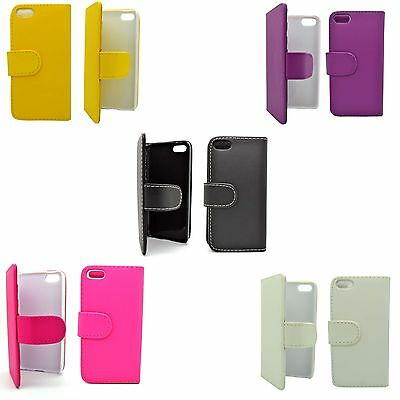 For Apple iPhone 5c Case Wallet Flip PU Leather Stand Card Slot Phone Cover