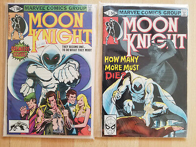 Moon Knight 1980-4 & Fist of Khonshu 1985 - Lot of 16