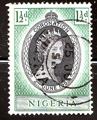 Nigeria 1953,Queen Elizabeth II Coronation Issue Cancelled