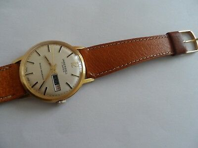 Vintage Ingersoll 17 Jewels Shock Resistant Swiss Made Men's Watch,- Not Working
