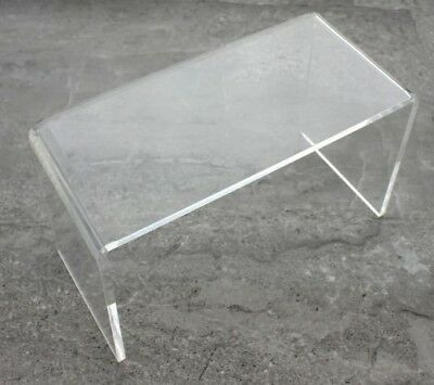Display Risers Pack of 2 Clear acrylic display riser