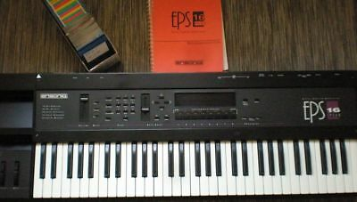 Ensoniq EPS 16+ Plus + 2 MB Speicher + HXC SDCARD Floppy + Waveboy Disketten