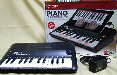 Ion Piano Apprentice - Use Old Ipads/ipods/iphones To Learn To Play The Piano