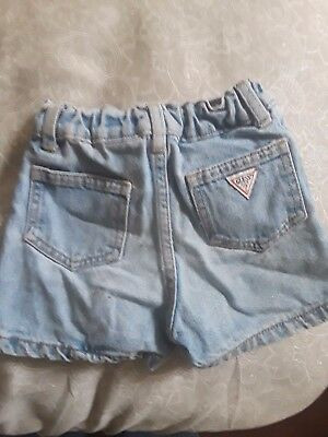 Guess Jean shorts 18 month's
