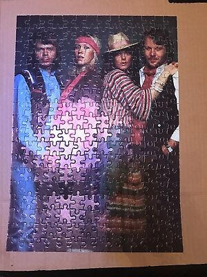 Abba Vintage Jigsaw Puzzle 1970's