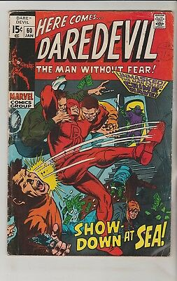 *** Marvel Comics Daredevil #60 G ***