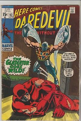 *** Marvel Comics Daredevil #63 G ***