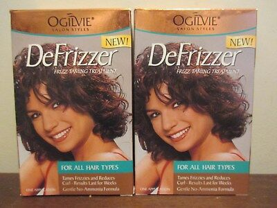 (2) Ogilvie Defrizzer frizz taming treatment for all hair types