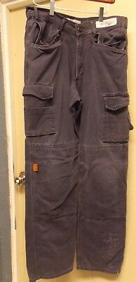 THRIVE Flame Resistant Tactical Cargo Knee Pad Work Pants Navy Blue