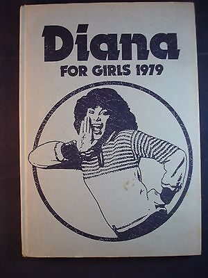 Diana Annual 1979 Vintage Girls Hardback Book