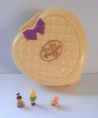 Vintage Polly Pocket Strolling Baby, by Bluebird Toys, 1994 100% COMPLETE