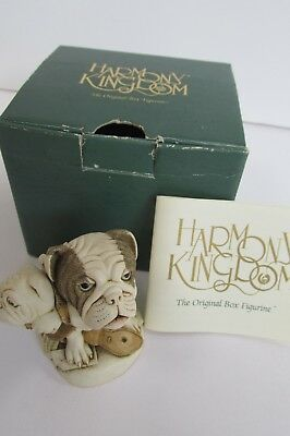 "1st Edition Harmony Kingdom ""Dead Ringer"" with Box & Original Paper"