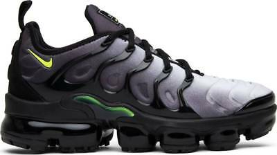 8d9e17c86e79b Nike Air Vapormax Plus Black Volt White Neon 95 Grey Men s Sneakers 924453 -009
