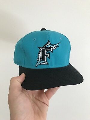Vintage Sports Soecialties Florida Marlins Fitted New Era 7 1/8 Retro MLB