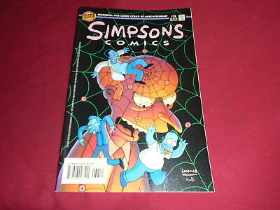 THE SIMPSONS COMICS #38  Bongo Comics US Original Edition 1998 VF/NM