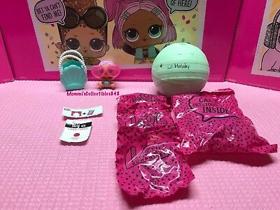LOL L.O.L. Surprise Dolls ~ Series 2 ~ LIL MERBABY ~ FACTORY SEALED PACKAGES!