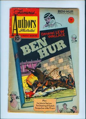 January 1951 Ben Hur No. 11 Authors Illustrated Comic Book (Inv. No. 173)